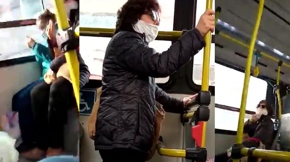 Repudian por xenófoba a una pasajera de colectivo en Rosario en un video viral