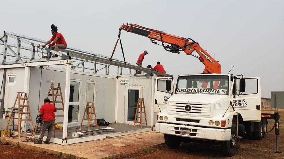 Se habilitará el traspaso del Hospital modular en Puerto Iguazú.