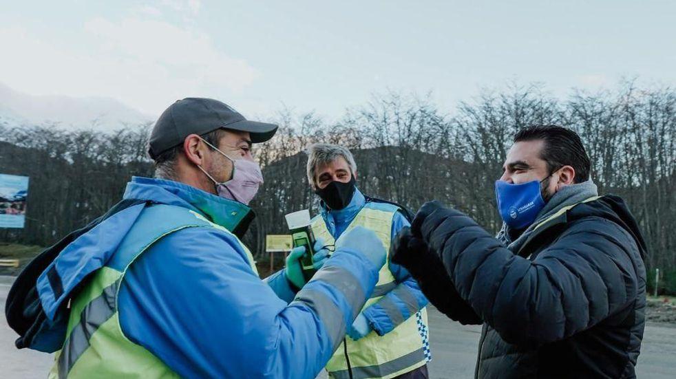 Walter Vuoto estuvo presente en el  lanzamiento del Plan de Obras del Gobierno Nacional en el Día de la Seguridad Vial