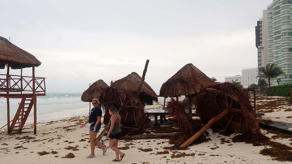 México: la tormenta tropical Grace volvió a ser huracán y se intensifica tras pasar por Tulum y Cancún
