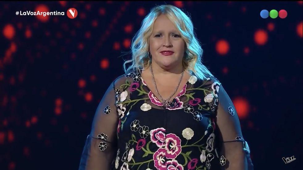 Paola Godoy, fan de Ricardo Montaner se presentó en La Voz Argentina