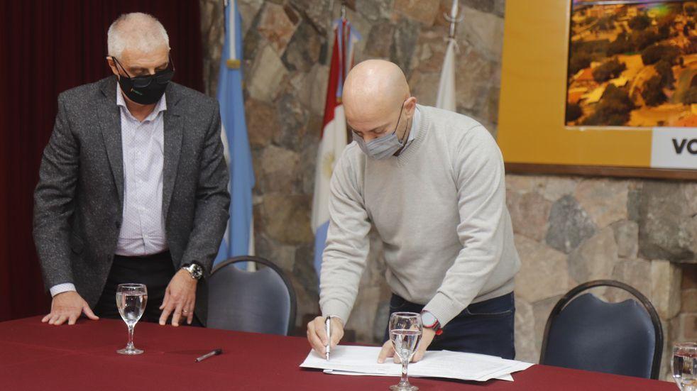 Convenio entre el Municipio y el Banco de Córdoba