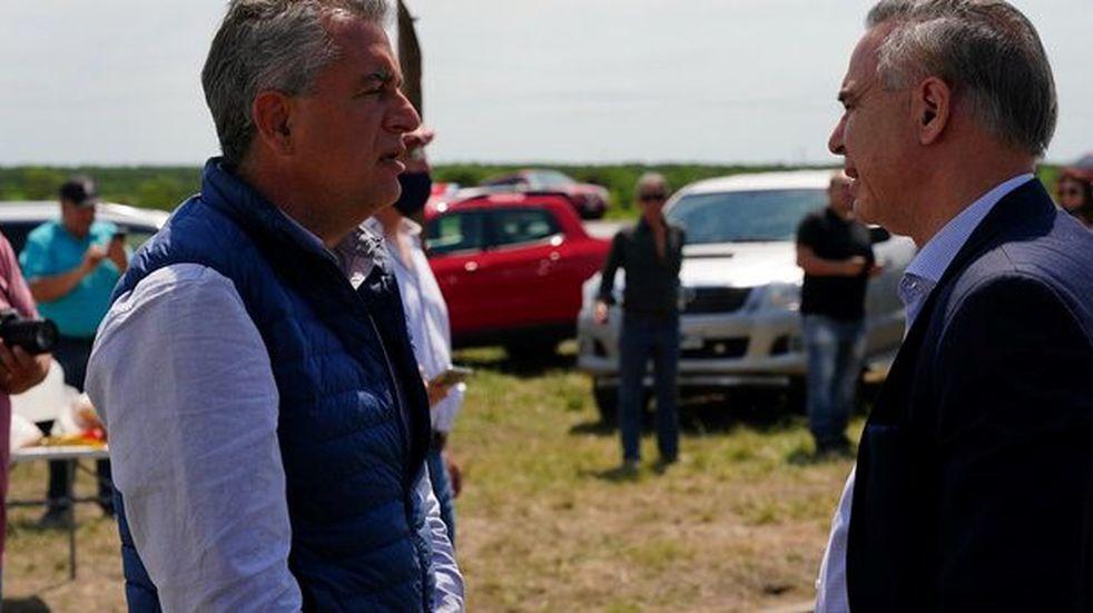 Miguel Ángel Pichetto viajó a Entre Ríos para apoyar a los Etchevehere