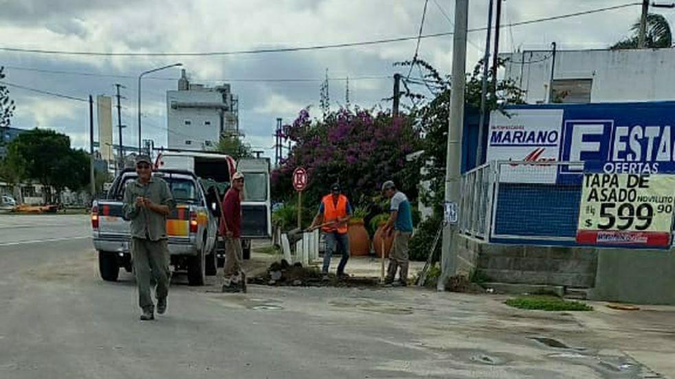Se normaliza el servicio de agua potable del sector sur de Arroyito