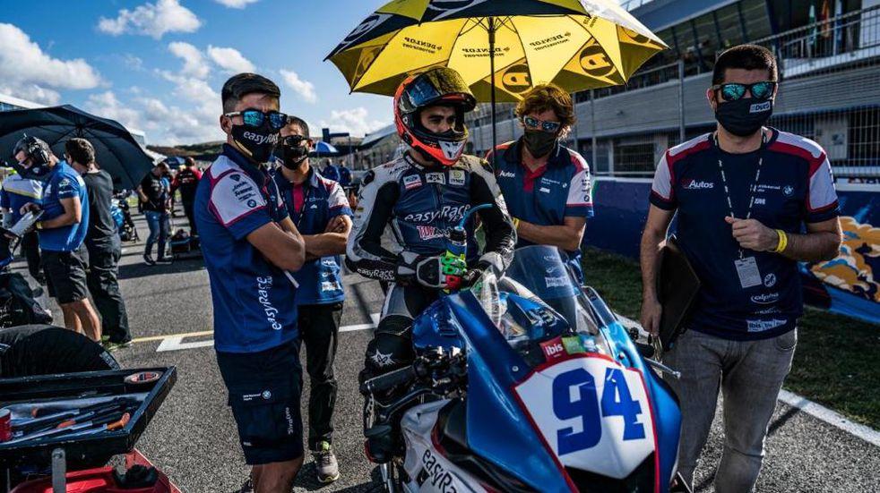 Andrés González corre la segunda fecha del Campeonato Español de Superbike