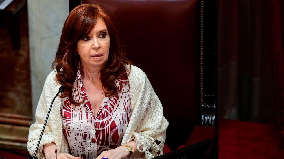 "Cristina Kirchner tildó de ""barrabravas"" a senadores de Juntos por el Cambio"