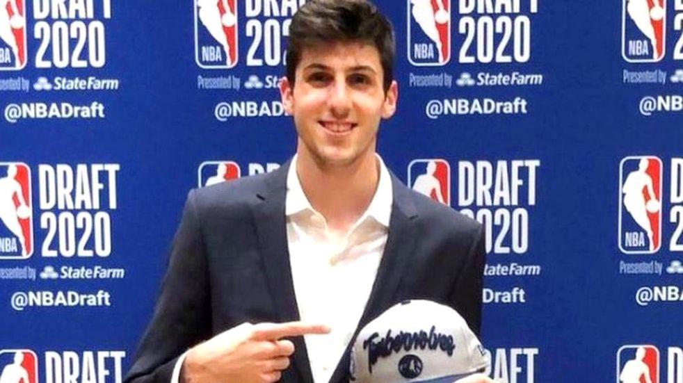 Es oficial otro cordobés a la NBA: Leandro Bolmaro jugará en Minnesota Timberwolves