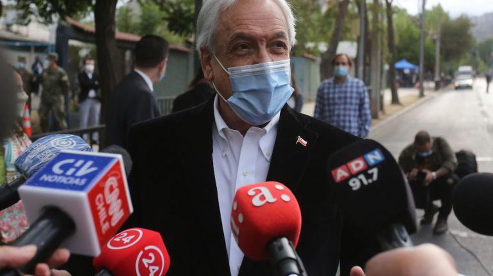 """Plebiscito en Chile: Piñera ya votó y convocó a """"todos, porque todas las voces importan"""""""