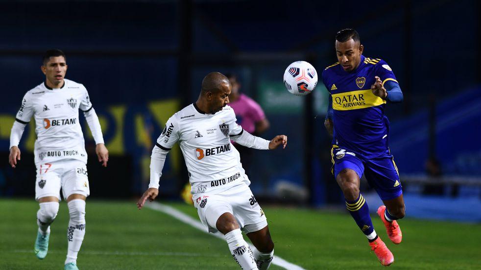 Copa Libertadores: Boca empató 0-0 con Atlético Mineiro en la ida de los octavos de final