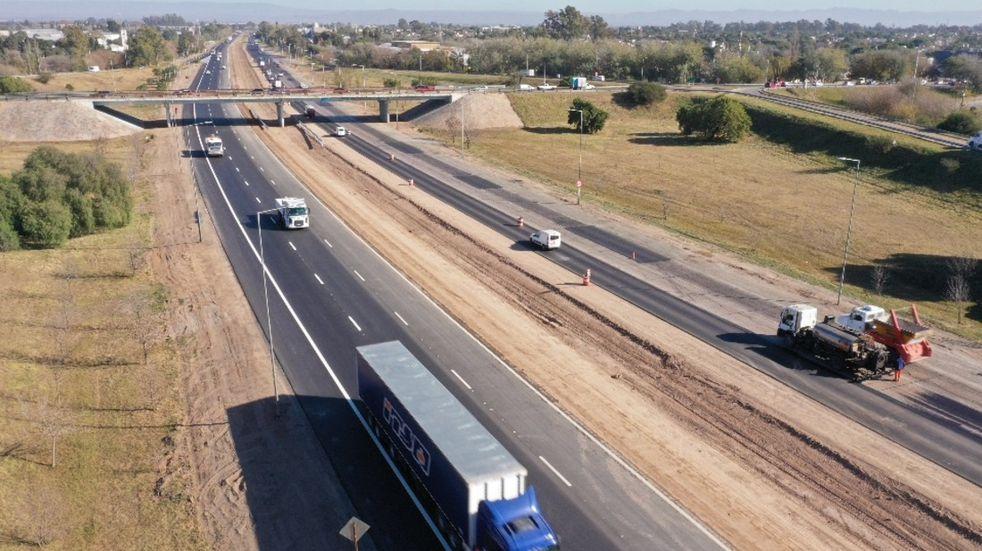 Circunvalación: habilitaron el tercer carril entre camino a San Carlos y el puente Cerveceros