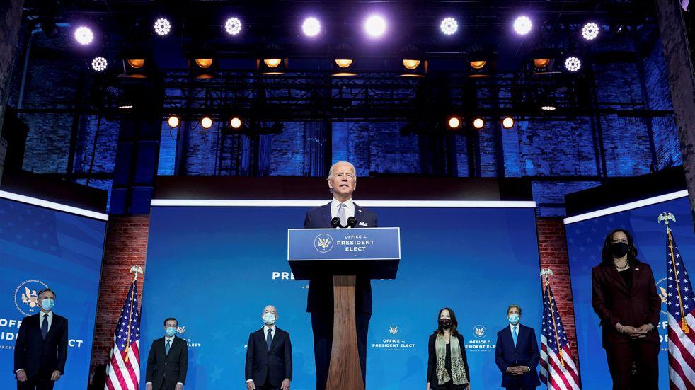 """Joe Biden dijo que Estados Unidos está """"listo para liderar el mundo"""""""