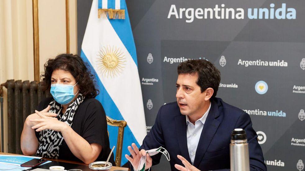 Coronavirus: Nación alentó a los gobernadores a comprar vacunas y pidió apoyo urgente a la ley de restricciones