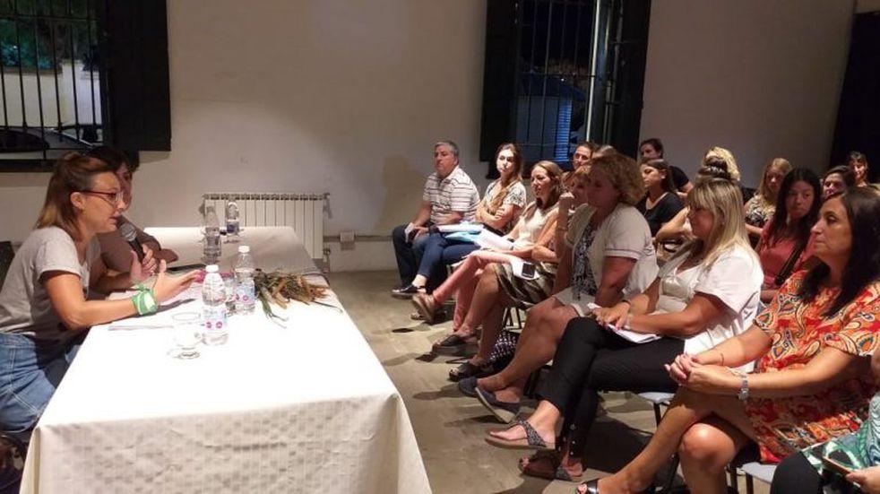 Primer encuentro de la Mesa Multisectorial de Mujeres