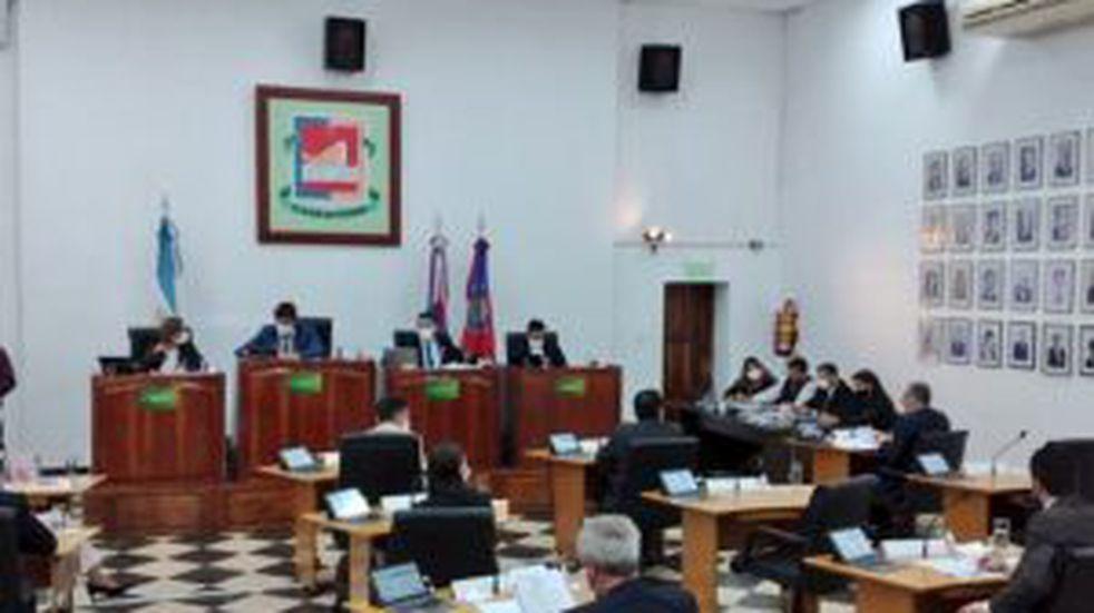 Retomaron las sesiones en el recinto del Concejo Deliberante de Posadas