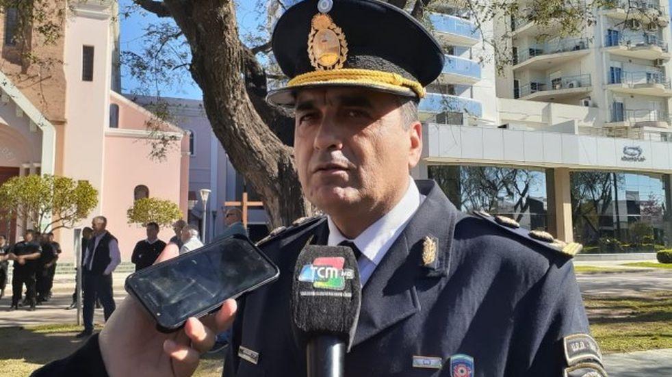 Héctor Roldán asume la Departamental Río Primero de la Policía de Córdoba