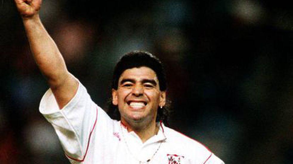 Venden la casa en la que vivió Diego Maradona en Sevilla: cómo es y cuánto vale