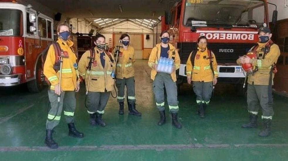 Solicitan incluir a los bomberos voluntarios como prioridad para ser vacunados
