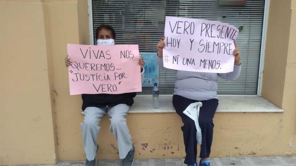 Se llevó a cabo la manifestación pidiendo justicia por Verónica Tottis