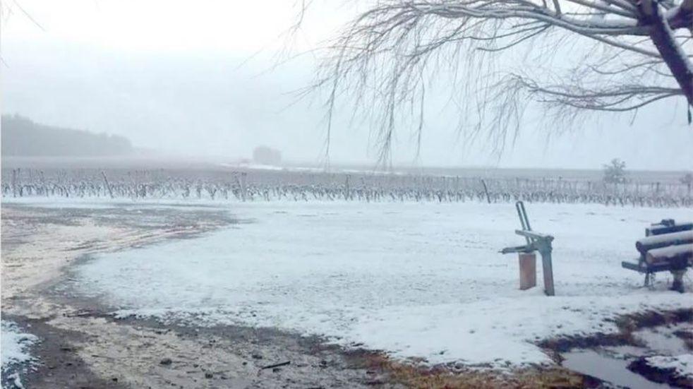 Pronóstico hidrico: hay un 29% de la nieve necesaria para evitar la sequía