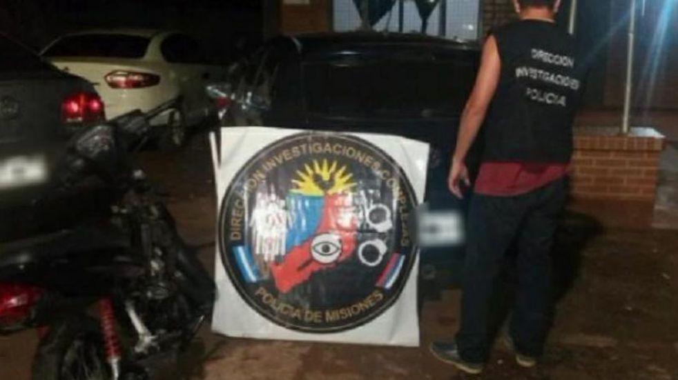 Varios operativos derivaron en el secuestro de un automóvil y la recuperación de una motocicleta robada en Posadas.