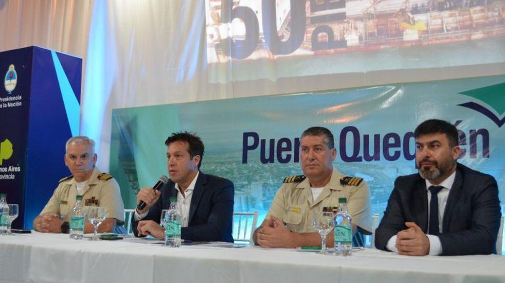 Puerto Quequén realizó el 1er Congreso de Protección y Seguridad Portuaria