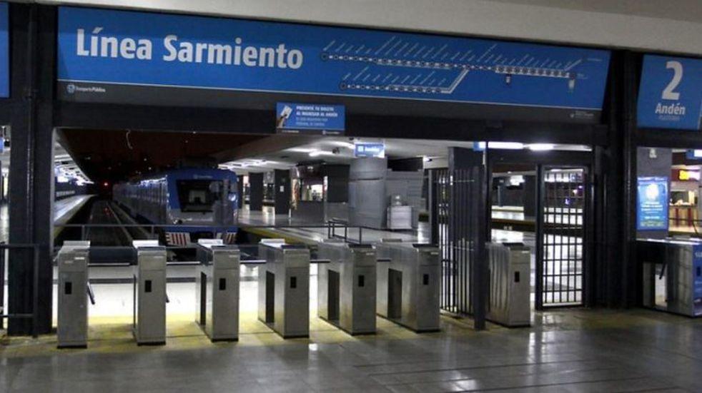 El tren Sarmiento opera con normalidad luego de la medida de fuerza por la detención de un trabajador