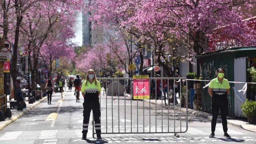 Vuelven a peatonalizar corredores platenses por el Día Mundial del Urbanismo
