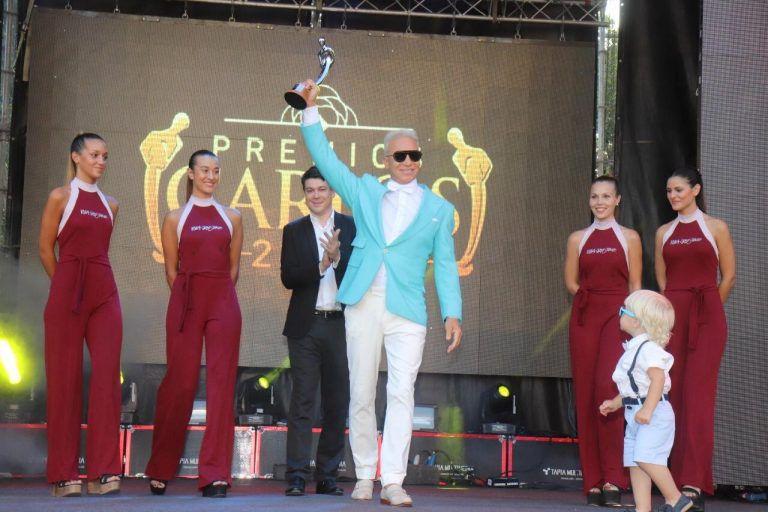 Flavio Mendoza en los Premios Carlos 2020