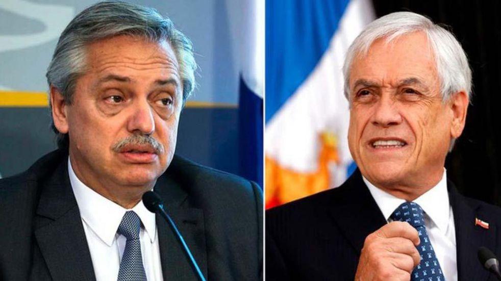 Conflicto con Chile: el Gobierno ve una jugada de Piñera para mejorar su popularidad antes de irse