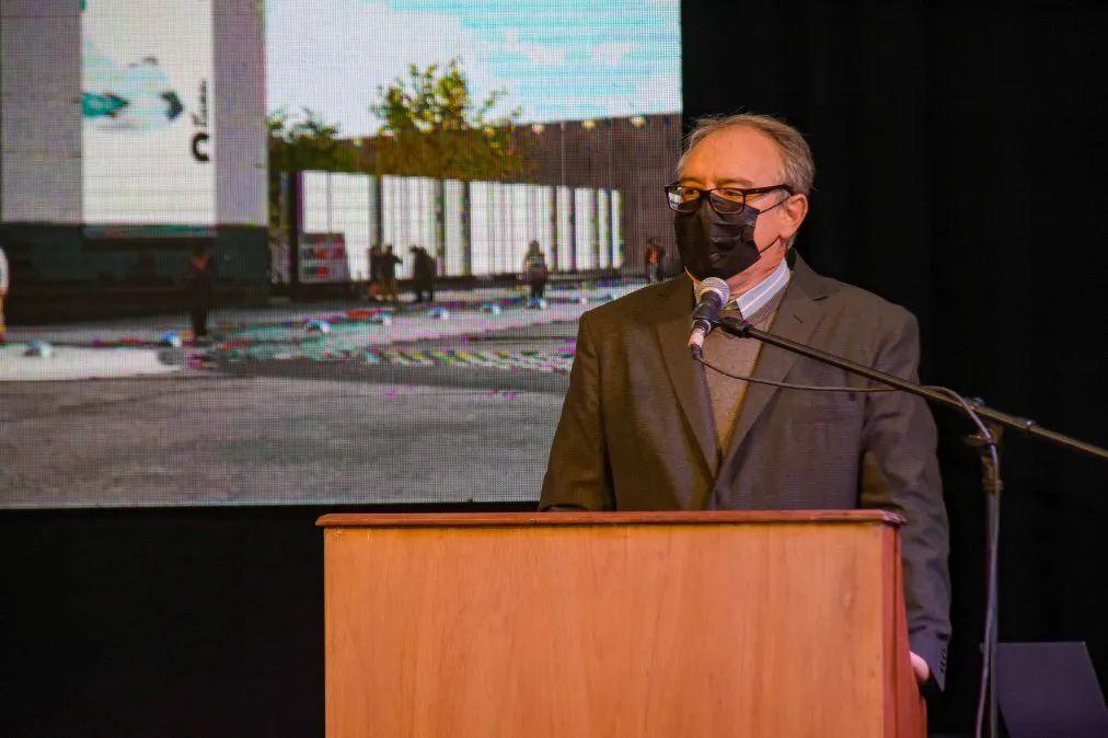 """Esta obra va a cambiar la dinámica del turismo en San Salvador de Jujuy"", afirmó el ministro de Infraestructura Carlos Stanic."