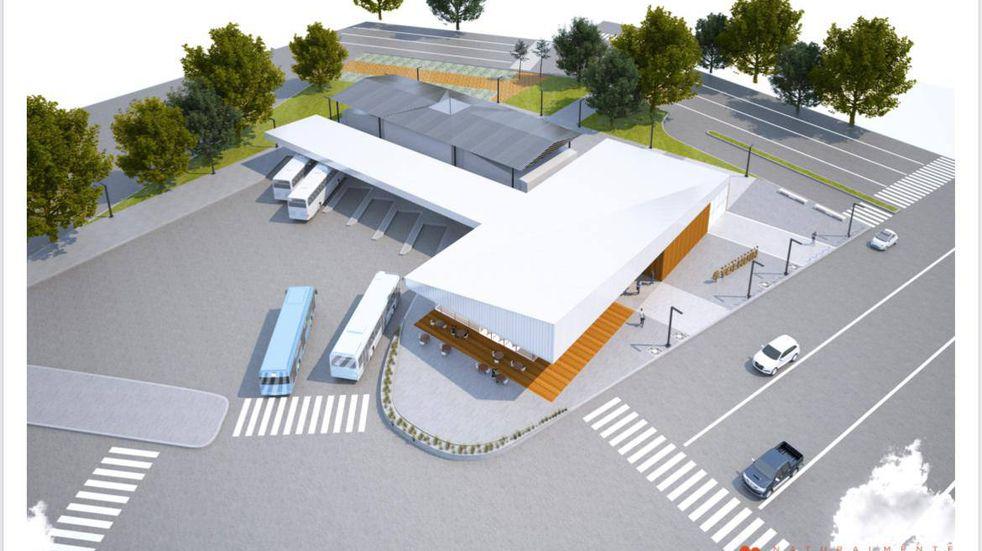 Tolhuin: se trabaja en el proyecto de la terminal para transporte público