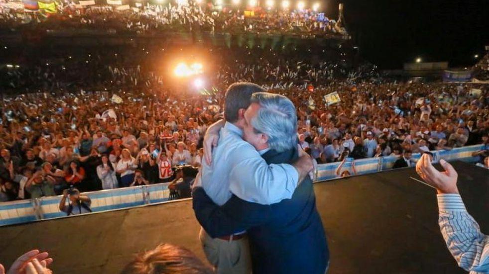 """""""Vamos a volver y seremos mejores de lo que fuimos"""", prometió Alberto Fernández"""